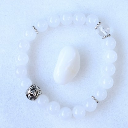 reiki charged snow quartz
