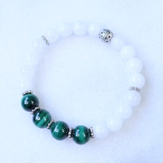 reiki charged malachite bracelet