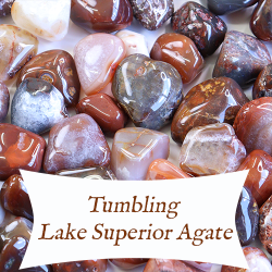 tumbling lake superior agate