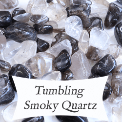tumbling smoky quartz