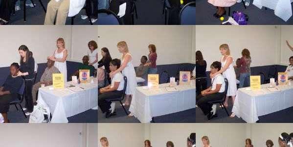 Reiki Share at Barry University Health Fair