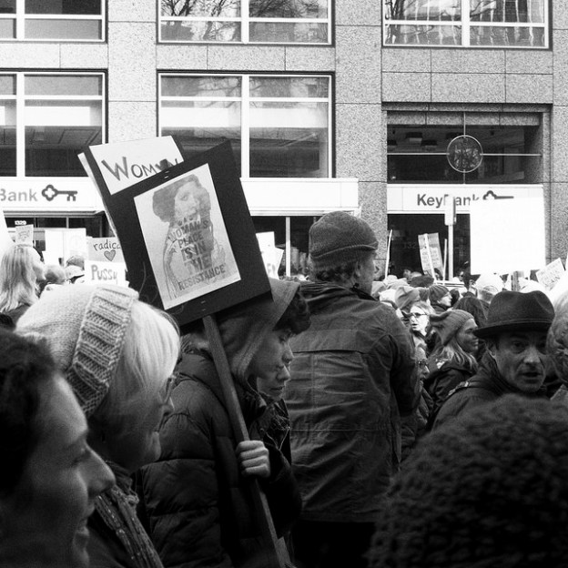 Women's March Seattle picture