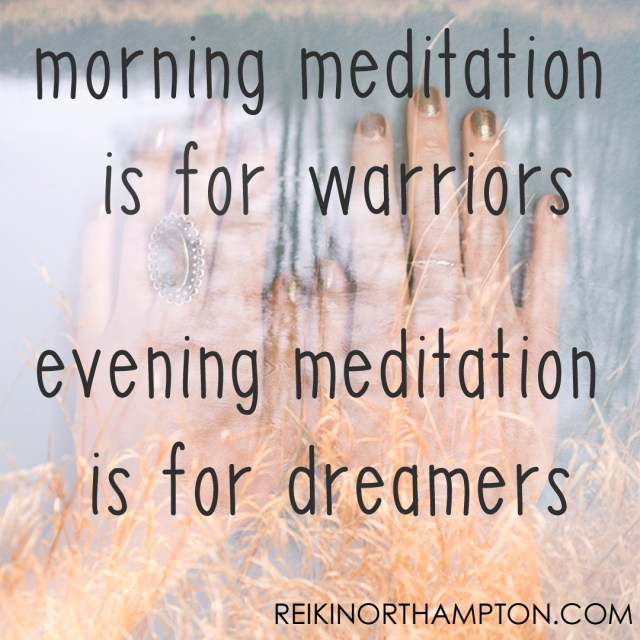 InstaQuotes morning meditation