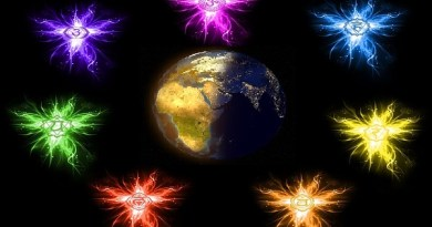 7 Chakras de la Madre Tierra