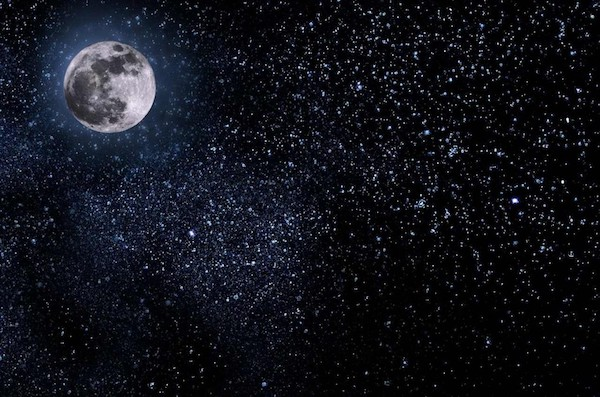 Dejar ir y manifestación en luna llena