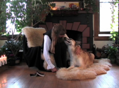 YouTube Video, Two Dogs, Inspired By Dalai Lama