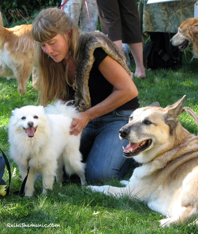 Blessing For The Animals, And One For The Shaman