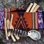 Mini Palo Santo Smudge Kit With Travel Case