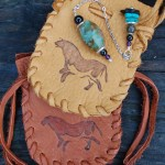 Ancient Ways Horse Design Medicine Pouch