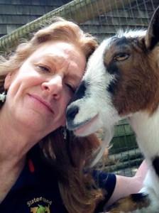 Reiki Selfie with Goat ©Natasha Zapata www.reikishamanic.com