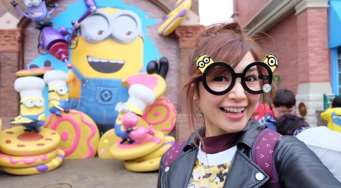เรโกะเที่ยวโอซาก้า แดนมินเนี่ยน Minion Park โซนใหม่ล่าสุดที่ Univelsal Studios Japan (USJ)