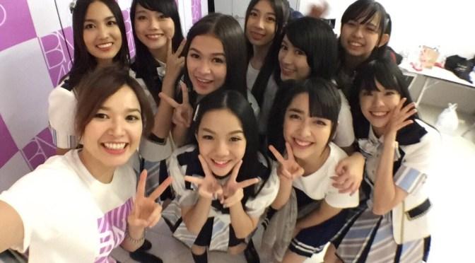 ตื่นเต้นๆได้เป็นพิธีกรงาน BNK48 The Debut! BNK48デビューイベントのMCになれた気持ち