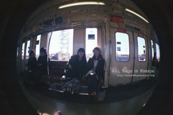 [東京] 用魚眼相機,記錄冬天