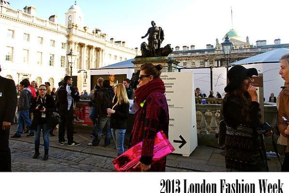 [倫敦] 爭奇鬥艷之2013London Fashion week,倫敦時裝週