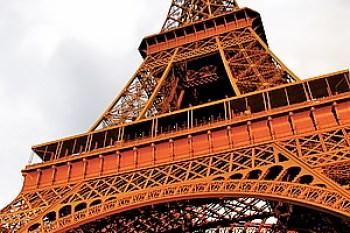 [巴黎]2011.7.22 艾菲爾鐵塔攻頂!征服百萬夜景