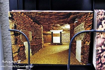 [巴黎]2011.7.23 真的有點恐怖,地下墓場