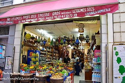 [巴黎]2011.7.20 超級巧遇!蒙特吉爾街Rue Montorgueil
