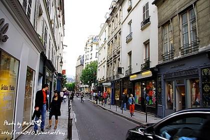 [巴黎]2011.7.21 最迷人最捨不得走的瑪黑區Le Marais