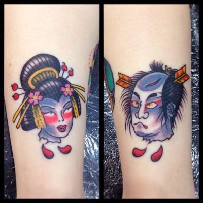 #choppedhead #oiran #samurai #namakubi #tattoo #生首 #花魁 #侍 #tattoo