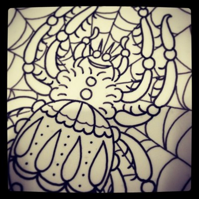 #spider#design#sketch#スパイダー#蜘蛛#タトゥー#デザイン#tattoo#tattoodesign#reikotattoo#タトゥー #studiokeen