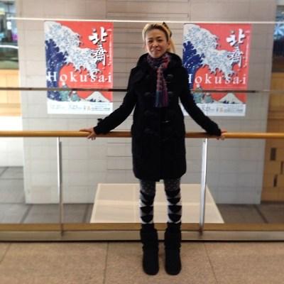 #hokusai #北齋展 やっぱり見ておかないとね〜︎