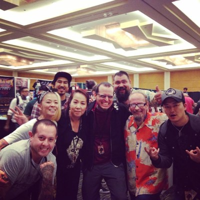 Arigato gozaimshita!Had a great time.#bayareatattooconvention #BillSalmon #MarcusPacheco @junkoshimada @clawtattoos @kevindcsf @diamondclubtattoo @wakatomo_tattoo