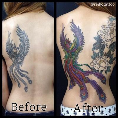 #phoenix #tattoo #鳳凰 #タトゥー