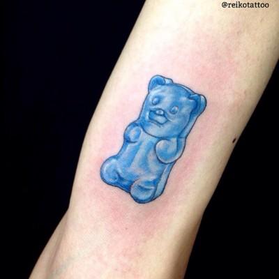 #Gummi #bear #tattoo #グミベア #タトゥー