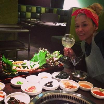 コリア〜ン ディナー ナウ!(*´艸`*) #Korean #dinner