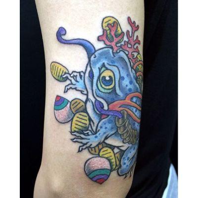 #三脚蟾蜍 #sankyakusenjyo #銭蛙 #frog #toad #tattoo #タトゥー #reikotattoo #studiokeen #名古屋 #矢場町 #大須