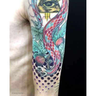 #ハーフトーン #タトゥー #halftone #tattoo #reikotattoo #studiokeen #japan #nagoyatattoo #tokyotattoo #名古屋 #大須 #矢場町 #東京 #静岡