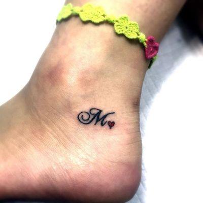 #M #イニシャル #タトゥー  #tattoo #reikotattoo #studiokeen #japan #nagoyatattoo #tokyotattoo #名古屋 #大須 #矢場町 #東京 #静岡