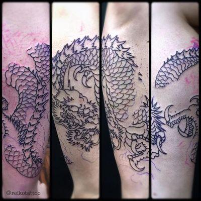 #龍雲 #龍 #タトゥー #刺青 #dragon #dragonintheclouds #tattoo #reikotattoo #studiokeen #japan #nagoyatattoo #tokyotattoo #名古屋 #大須 #矢場町 #東京 #静岡
