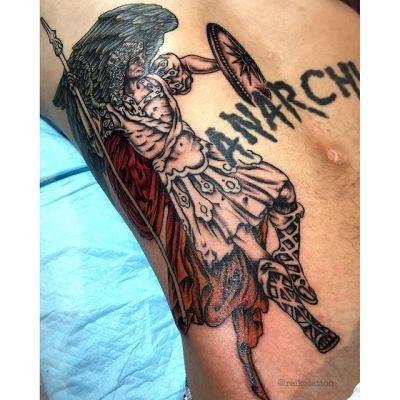 #大天使 #ラファエル #タトゥー #archangel #raphael #tattoo #reikotattoo #studiokeen #japan #nagoyatattoo #tokyotattoo #名古屋 #大須 #矢場町 #東京 #静岡