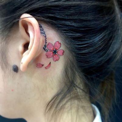 #桜 #sakura #cherryblossom ...#tattoo #reikotattoo #studiokeen #japan #nagoyatattoo #tokyotattoo #irezumi #タトゥー #刺青 #名古屋 #大須 #矢場町 #東京 #静岡 #hocuspocustattoo #shizuokatattoo