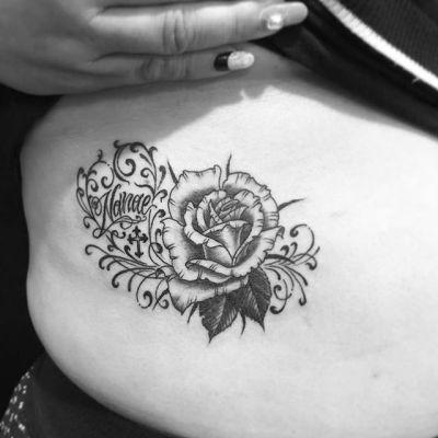 #rose #バラ..#tattoo #reikotattoo #studiokeen #japan #nagoyatattoo #tokyotattoo #irezumi #タトゥー #刺青 #名古屋 #大須 #矢場町 #東京