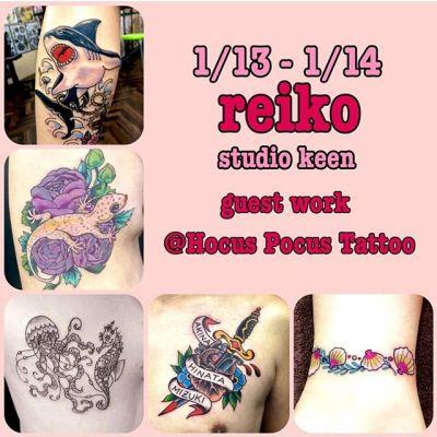 ゲストワーク🛵🚁@hocuspocustattoo 静岡...#tattoo #reikotattoo #studiokeen #japan #nagoyatattoo #tokyotattoo #irezumi #タトゥー #刺青 #名古屋 #大須 #矢場町 #東京 #静岡