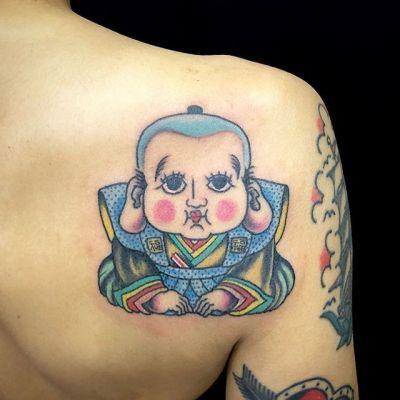 #福助 #fukusuke ...#tattoo #reikotattoo #studiokeen #japan #nagoyatattoo #tokyotattoo #irezumi #タトゥー #刺青 #名古屋 #大須 #矢場町 #東京