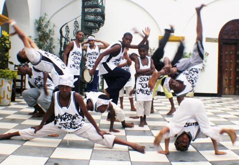 Zanzibar Stone Town Capoeira Crew (Zanzibar, Tanzania) © Jarrel Phillips