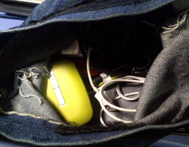 See? It fits in your pouch, along with your other peripherals.
