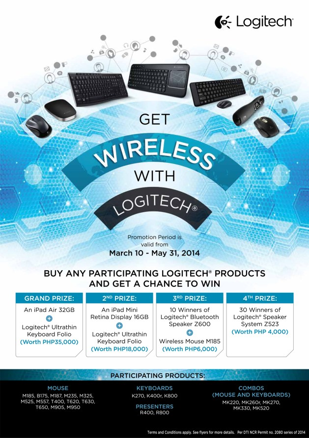 Be Wireless With Logitech