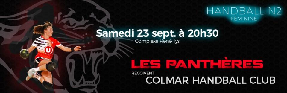 RCH - Colmar : 23 septembre 2017 à 20H30