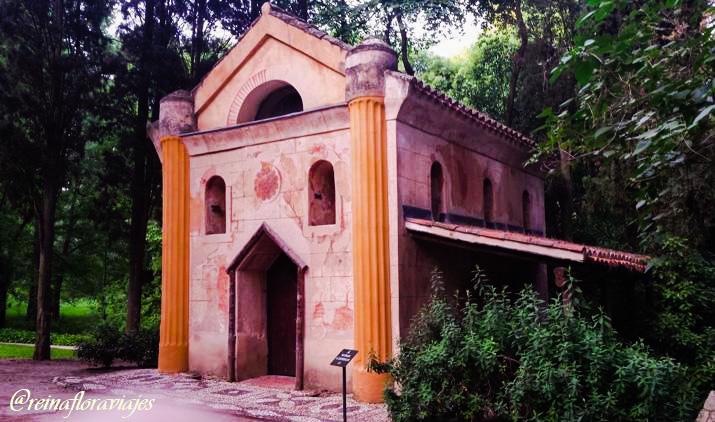 Ermita del Parque El Capricho de Madrid