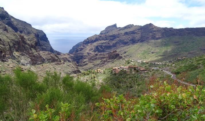 aldea de Masca en Tenerife