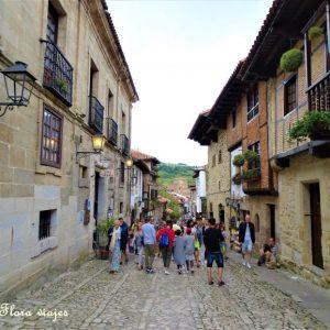 callejuela Santillana del Mar