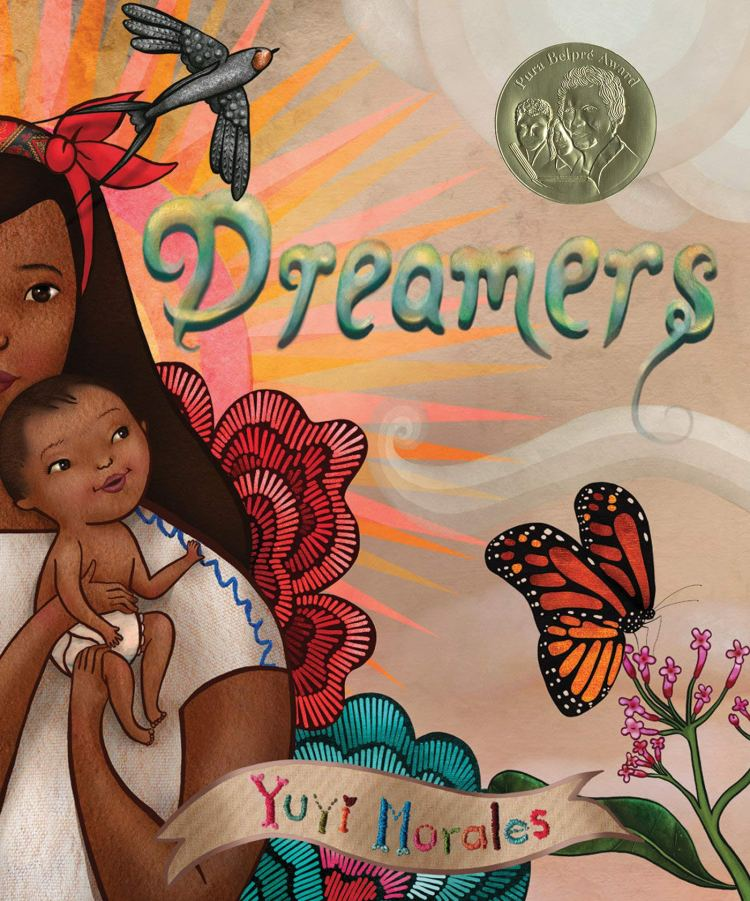 Dreamers by Yuyi Morales Book Cover