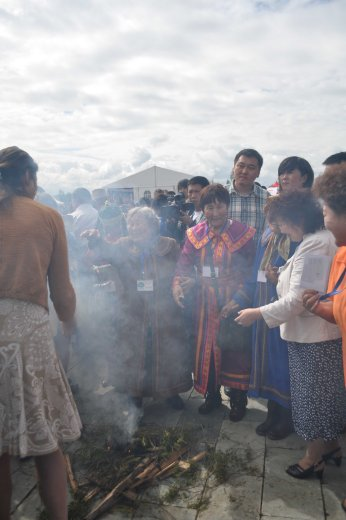 Cleansing ceremony opening day