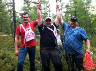 1st place: Mr. Janne Näkkäjärvi, Finland ; 2nd place: Mr. Aslak Ante Sara, Norway; 3rd place: Mr. Ole Mathis J. Eira, Norway; photo credit: reindeerherding.org