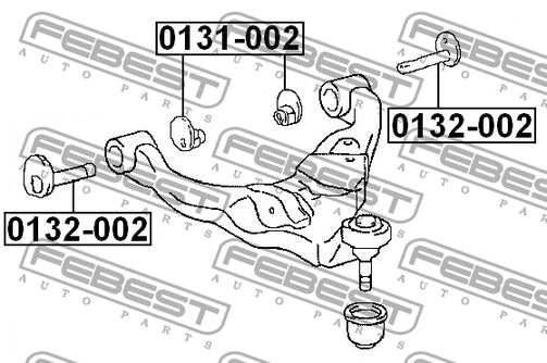 0132-002 CAM SUB-ASSY OEM to compare: 48409-35050Model