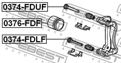 0374-FDLF PIN SLIDE OEM to compare: 45262-S0K-A01Model